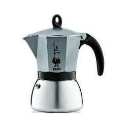 CAFETIERE MOKA INDUCTION 3T ANTARTIQUE INOX/ALU
