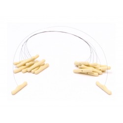 FILS A BEURRE/FROMAGE 45 CM TOURILLONS