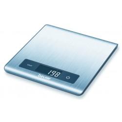 BALANCE ELECTRONIQUE INOX BROSSE ANTI-TRACES -NOIR 5KG/1GR