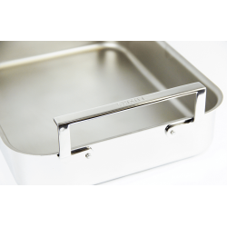 COUVERCLE UNIVERSEL M'COOK FONTE D'INOX 25