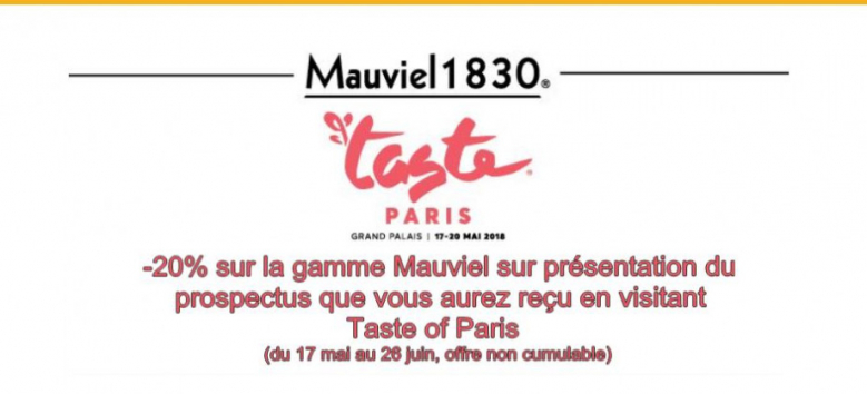 Operation Mauviel - Taste of Paris